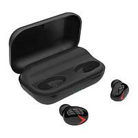 УЦЕНКА! Беспроводной сенсорный Bluetooth наушник Alitek A8 TWS Stereo Black с кейсом (Предоплата), фото 1