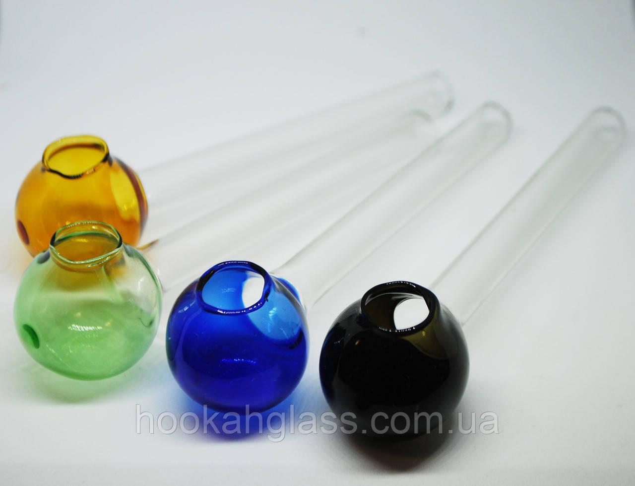 Стеклянная трубка для курения Oil Color