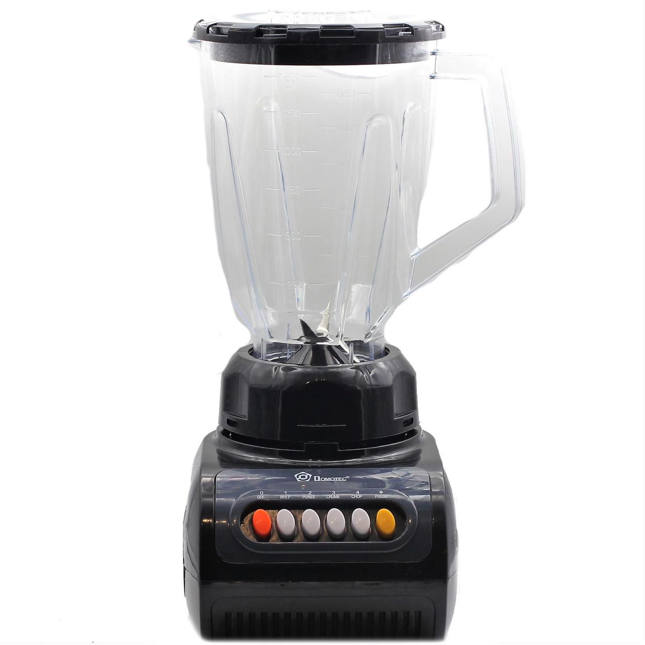 Мощный Блендер 2 в 1 с кофемолкой Domotec MS-9099