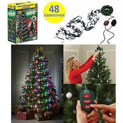 Гирлянда 48 Christmas lights