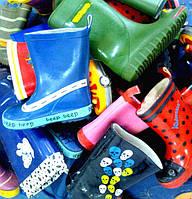 Обувь резиновая детская секонд хенд из Англии