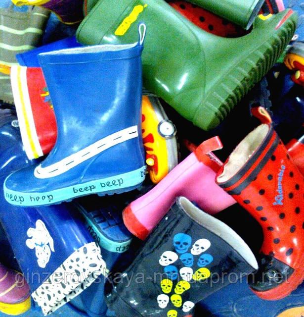 Обувь резиновая детская секонд хенд из Англии - ЧП Гинзеровская М.Н. в Хмельницком