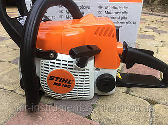 Бензопила STIHL MS 180 (шина 35 см, 1.5 кВт) США, Цепная пила Штиль MS 180