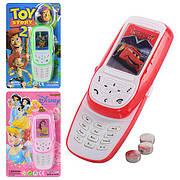 Мобильный телефон 3 вида батар. на планш. 19*12 см (432шт/3)