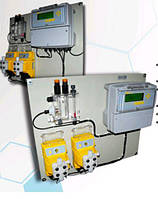 Автоматическая станция дозации HELIOS.05 pH/Cl 2хAT.AM2 (8 л/час при 2 бар) INJECTA (Италия)