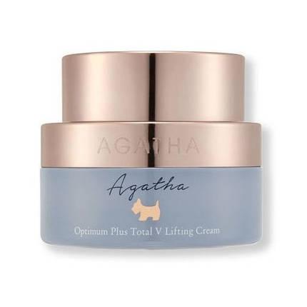 Укрепляющий питательный лифтинг крем Agatha Optimum Plus Total V Lifting Cream, 50 мл, фото 2