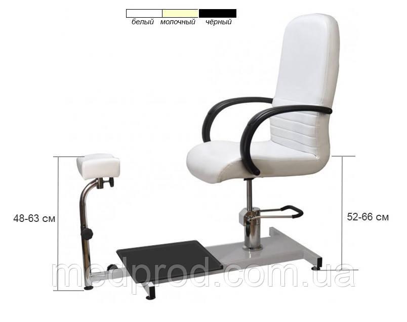 Кресло педикюрное модель 100 СПА SPA