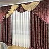 Комплект готовых штор с ламбрекеном №390, фото 3