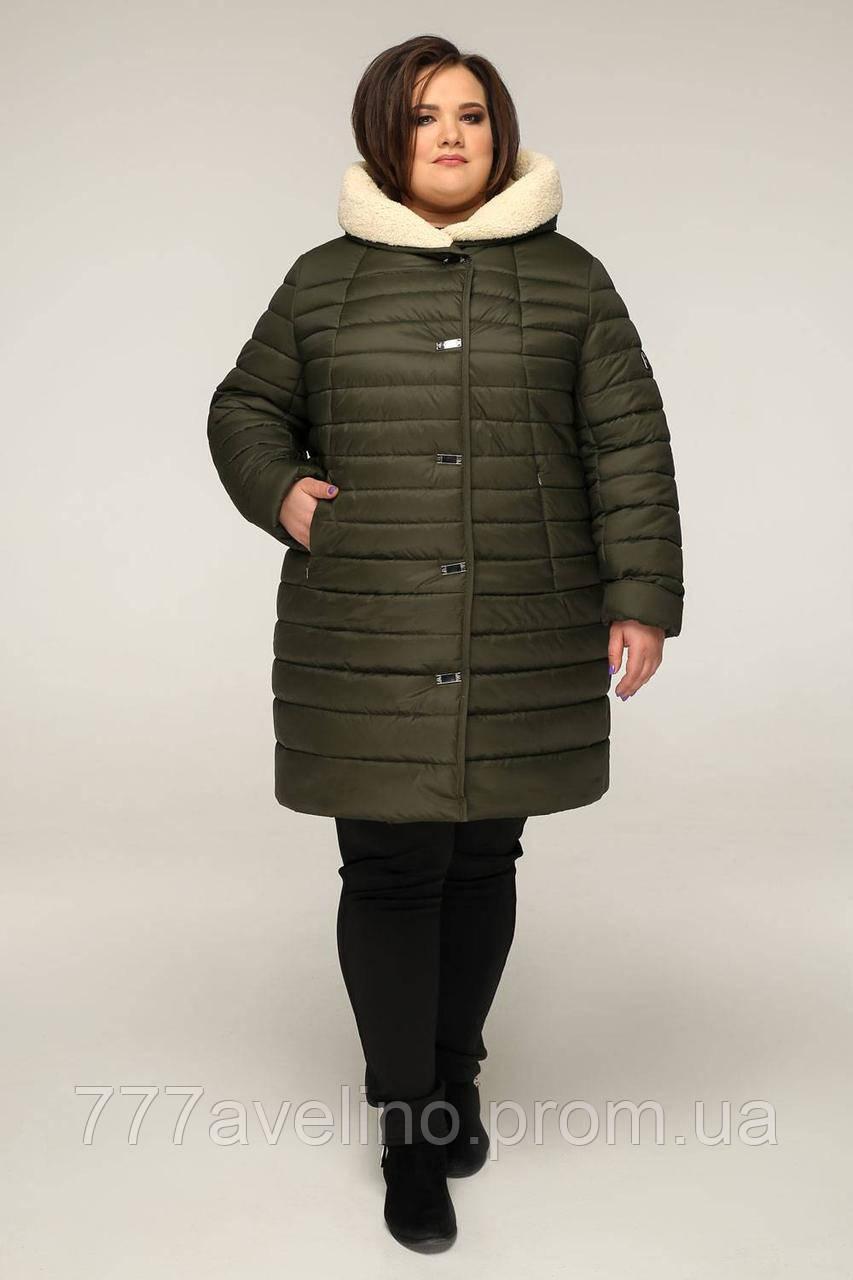 Куртка женская зимняя больших размеров
