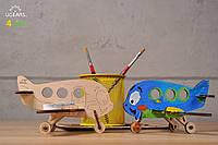 3D модель-розмальовка  «Аероплан» UGEARS
