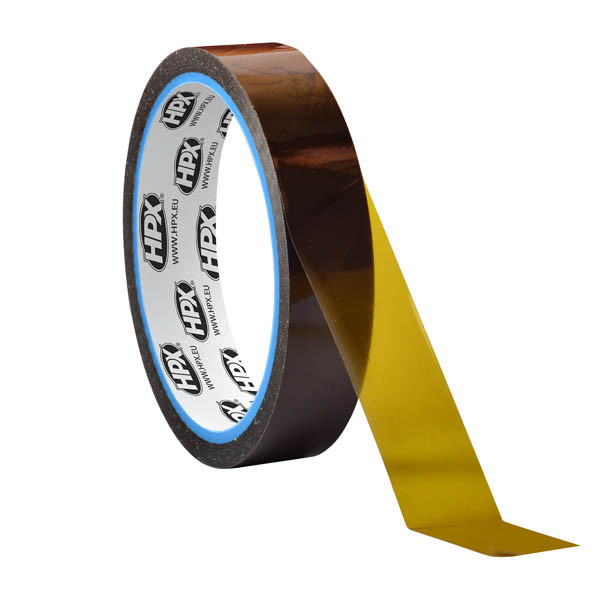 HPX 14000 - антистатическая полиамидная лента для термопечати и термоизоляции - 15мм x 33м