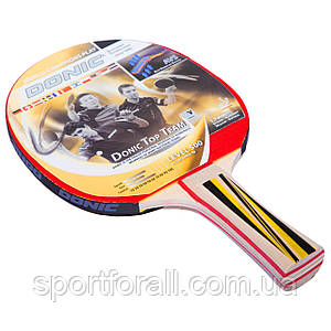 Ракетка для настольного тенниса 1 штука DONIC LEVEL 500 TOP TEAM