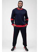 Мужской спортивный костюм Go Fitness blue-red