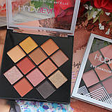 Палітра тіней Huda Beauty color eyeshadow palette, фото 2