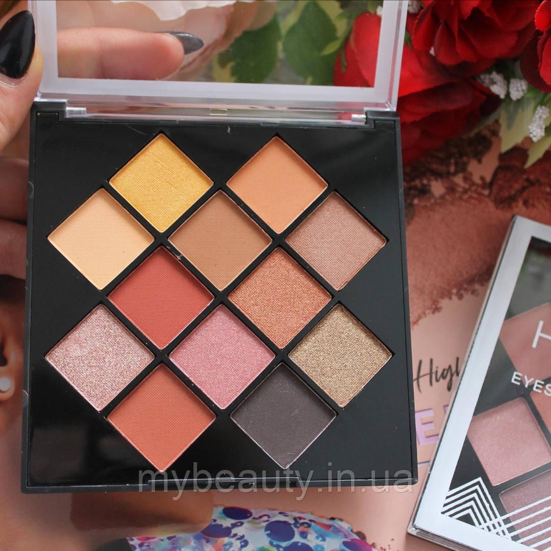 Палитра теней Huda Beauty eyeshadow color palette