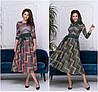 Р-ри 42-54 Ангоровое плаття з пишною спідницею міді 20568