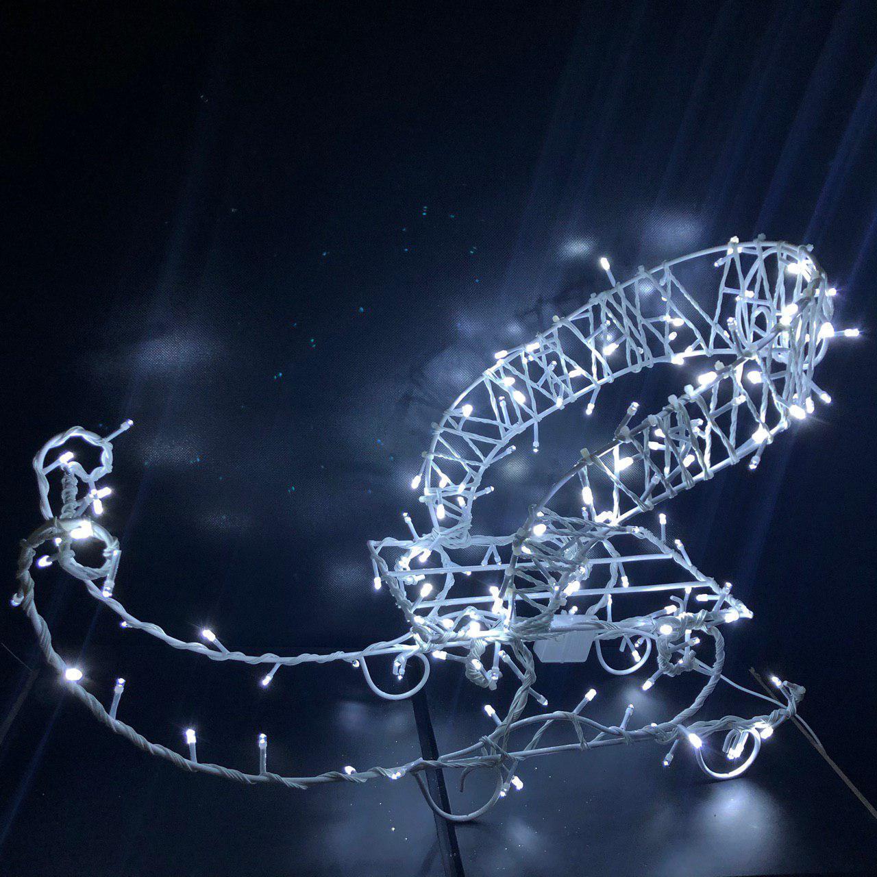 """Фигура новогодняя LED """"Сани"""", уличные"""