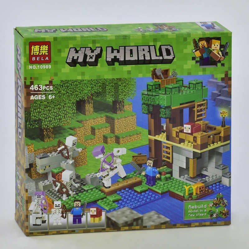 """10989 Конструктор Bela My World """"Нападение армии скелетов"""", 463"""