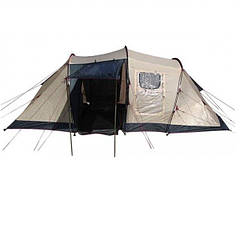 Палатка трехместная с тамбуром Coleman CLM90 (335х250х135см), серая