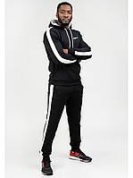 Мужской спортивный костюм Go Fitness black-white