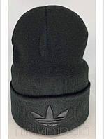Шапка в стиле Adidas Черная