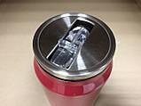Термос Молния МакКуин (McQueen) с клапаном и трубочкой 500 мл., фото 3