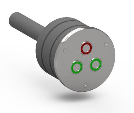 Сенсорна Кнопка для басейнів Hydro Star PIEZO Tri коло