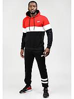 Мужской спортивный костюм Go Fitness red-black
