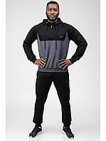 Мужской спортивный костюм Go Fitness grey-black
