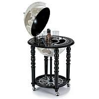 Глобус-бар підлоговий Zoffoli (Італія) Elegance, чорний (58 х 58 х 90 см) 248-0004