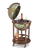 Глобус-бар підлоговий Zoffoli (Італія) Minerva Laguna (50 х 50 х 93 см) 248-0003