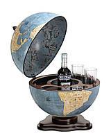 Глобус-бар настільний Zoffoli (Італія) Galileo Blu Dust (40 х 40 х 48 см) 248-0008
