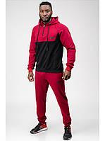 Мужской спортивный костюм Go Fitness black-red