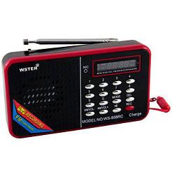 Портативная Колонка радио приемник SPS WS-958