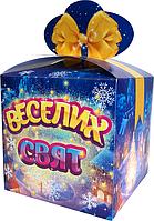 Коробка для фасовки Бант Синій для конфет на 500-700 г Синий