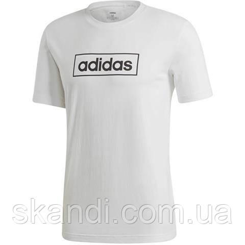 Футболка мужская adidas M Box Graphic Tee 3 белая EI4604