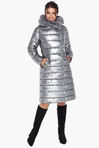 Воздуховик Braggart Angel's Fluff 31094| Женская теплая куртка, цвет: серебро