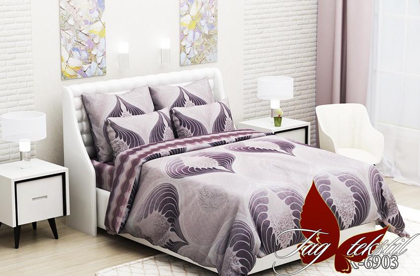 Полуторный. Комплект постельного белья с компаньоном R6903