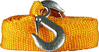 Буксировочный ремень REXXON 6000 кг (Трос для буксировки авто) крюк-крюк