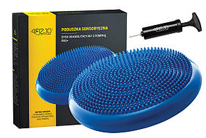 Балансировочная подушка (сенсомоторная) массажная 4FIZJO 4FJ0022 Blue