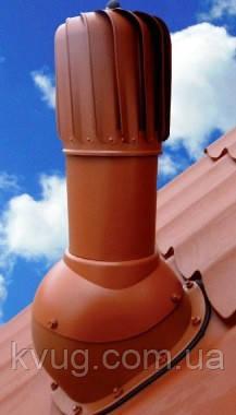 Вентиляционный выход TURBO  для металлочерепицы  150 мм, фото 1
