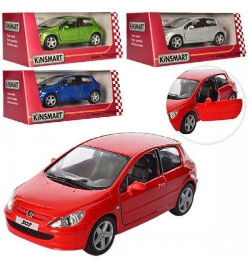 "5079W Машина метал.""Kinsmart"" Peugeot 307 XSI"