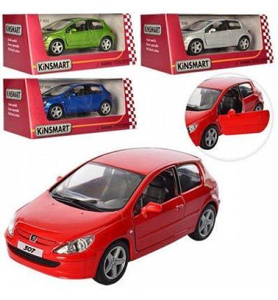 """5079W Машина метал.""""Kinsmart"""" Peugeot 307 XSI, фото 2"""