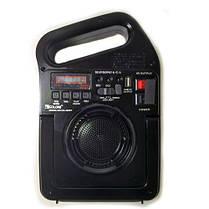 Радио колонка GOLON RX с проигрывателем MP3 фонарь от солнечной батареи LED лампы PowerBank499BT