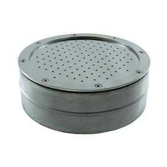 Гейзер круг диаметр 240 нержавеющая сталь для бассейна