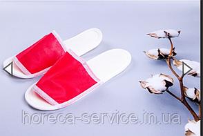 Одноразовые тапочки спанбонд для бани, сауны, SPA центров