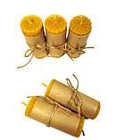 Свічки із вощини катані ручної роботи, фото 2
