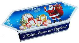 Новогодний сладкий подарок в картонной упаковке №1 100г.
