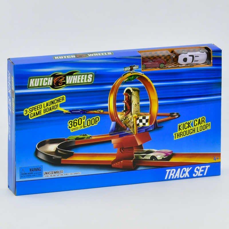 8815S Автотрек S 8815 (24) 2 машинки, в коробке [Коробка]