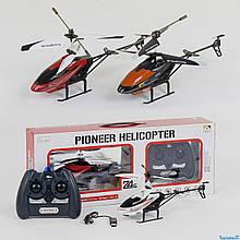 33024 Вертолет на управлении с гироскопом: метал.свет.аккум.USB кор.33*8*13 см